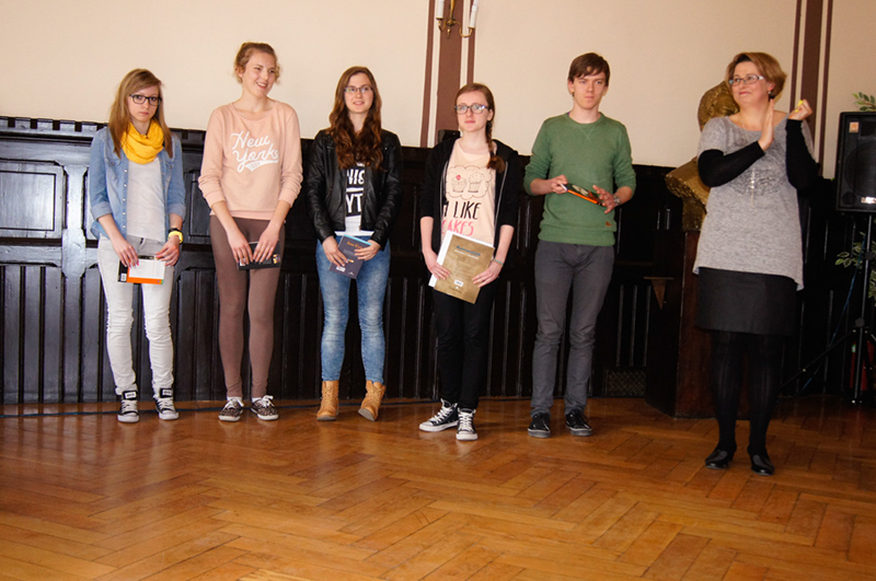 Rozdano nagrody za udział w konkursach językowych