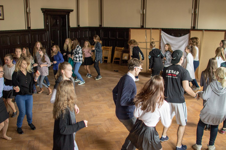 Taneczna przerwa w Zanie