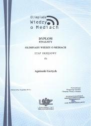 Dyplom Agnieszka1jpg