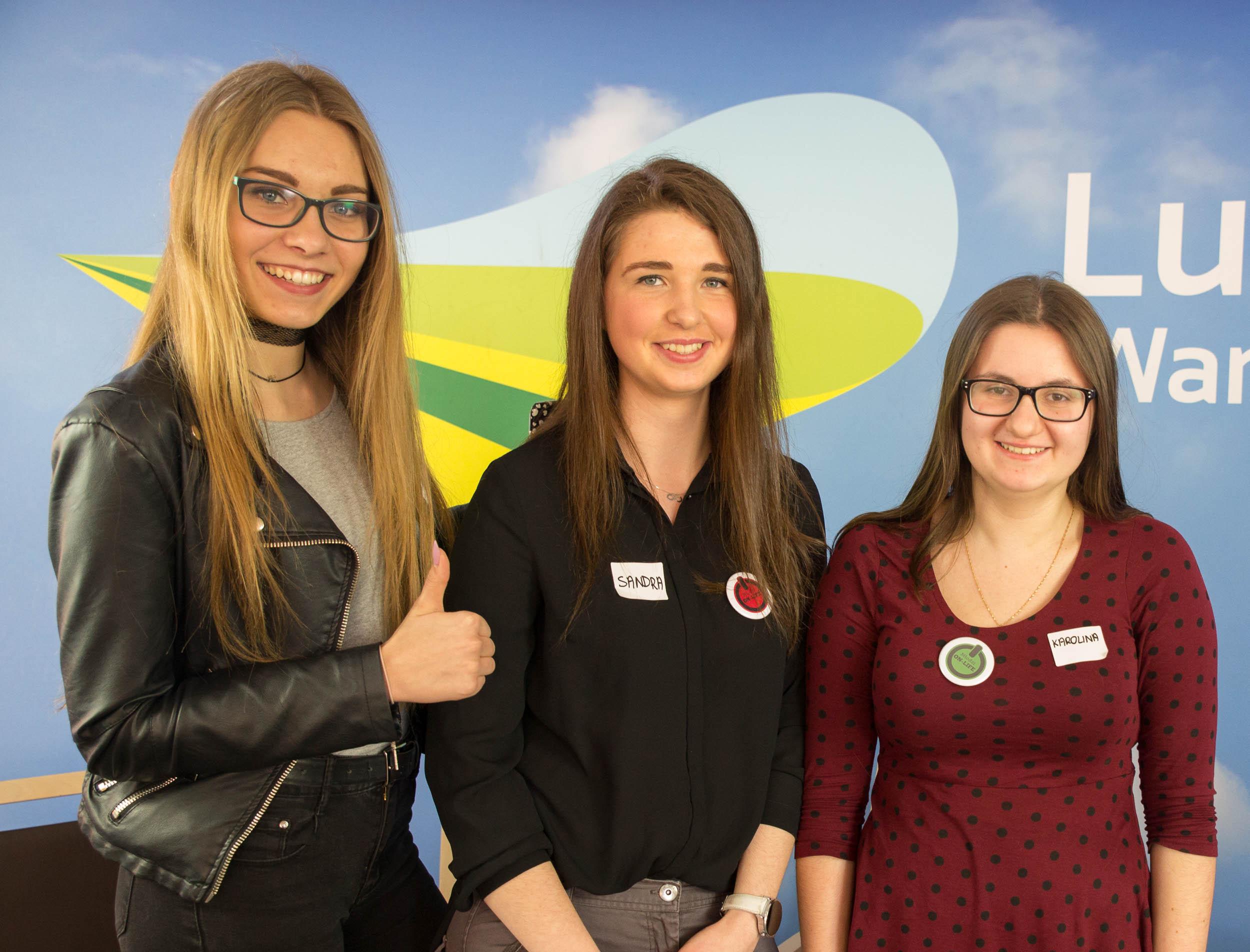 Uczennice z klasy dziennikarsko-humanistycznej wzięły udział w multimedialnych warsztatach LubuskiE-młodzież w Zielonej Górze