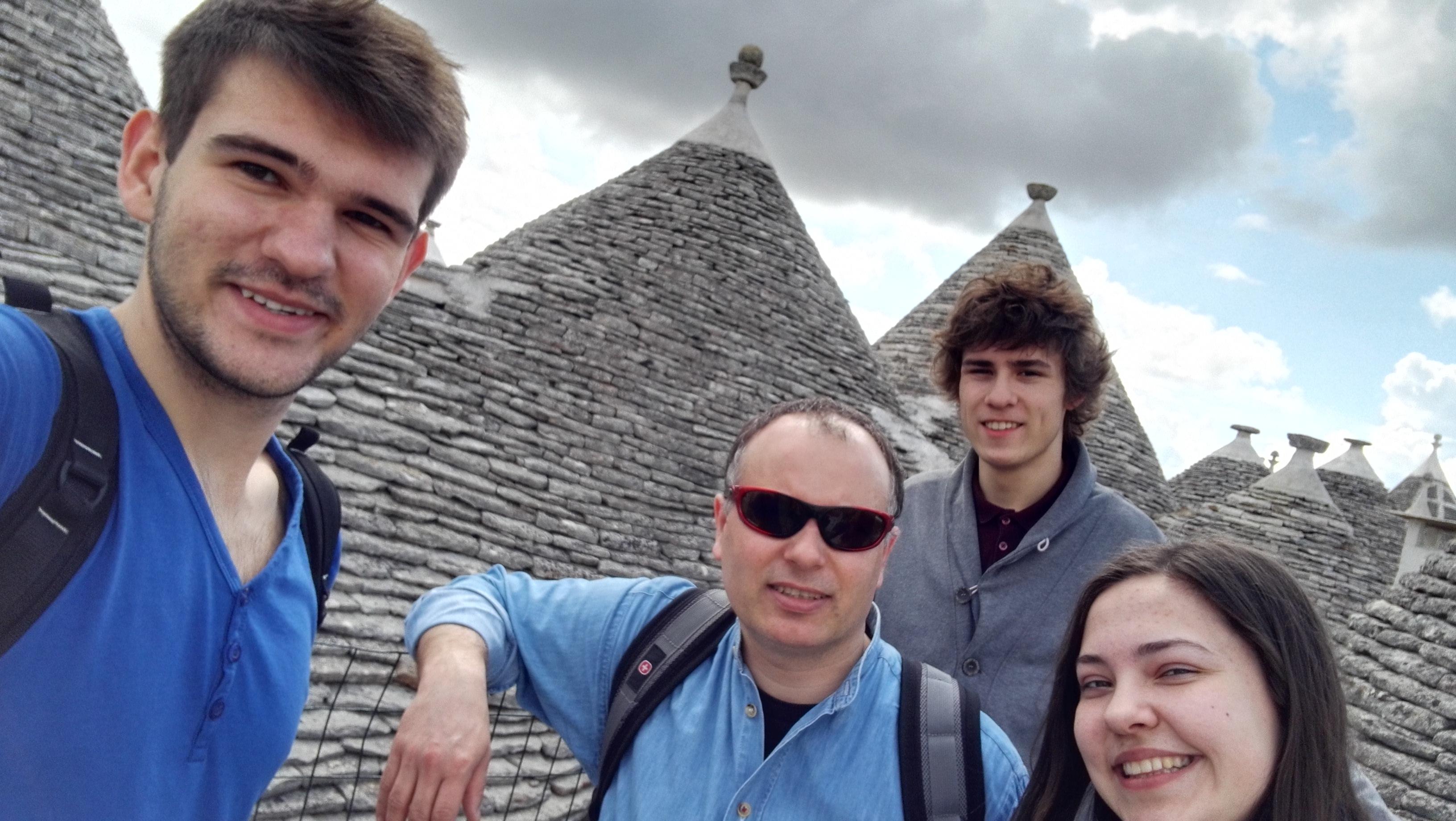 Uczniowie z ZANa we Włoszech