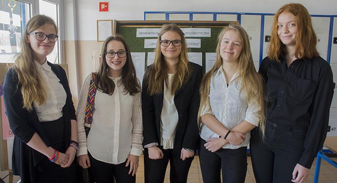 Czytanie warte zachodu – uczennice wzięły udział w II etapie konkursu