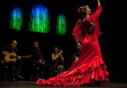 Lekcja tańca flamenco na zajęciach z j.hiszpańskiego