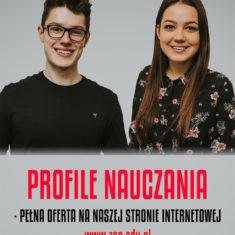 Profile naucznia w ZANie w roku szkolnym 2019/2020