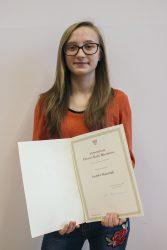 Stypendium Rady Ministrów dla uczennicy z Zana