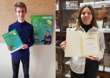 Uczniowie z Zana otrzymali  stypendium Prezesa Rady Ministrów
