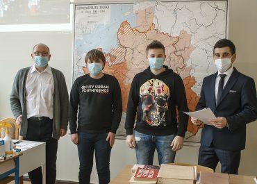 """Zawody rejonowe  Ogólnopolskiej Olimpiady Przedmiotowej """"Losy żołnierza…"""""""
